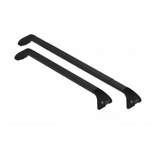 Acél tetőcsomagtartók - Opel Zafira Tourer (black rails)