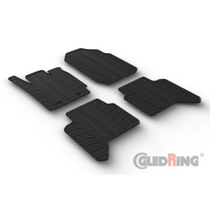 Gumiszőnyegek - Ford RANGER DOUBLE CABIN (automatic)