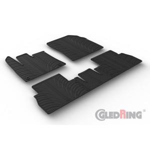 Gumiszőnyegek - Citroen Berlingo (az anyósülés nem összecsukható/ovális rögzítők)