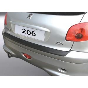 Lökhárító védelem - Peugeot 206/206 CC (Nem PLUS)